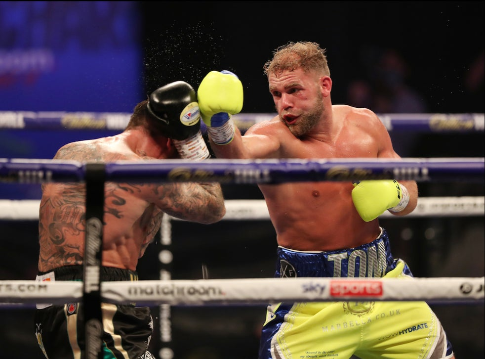 Billy Joe Saunders Dominates Valiant Martin Murray To Retain Wbo World Title | Saunders Vs Murray