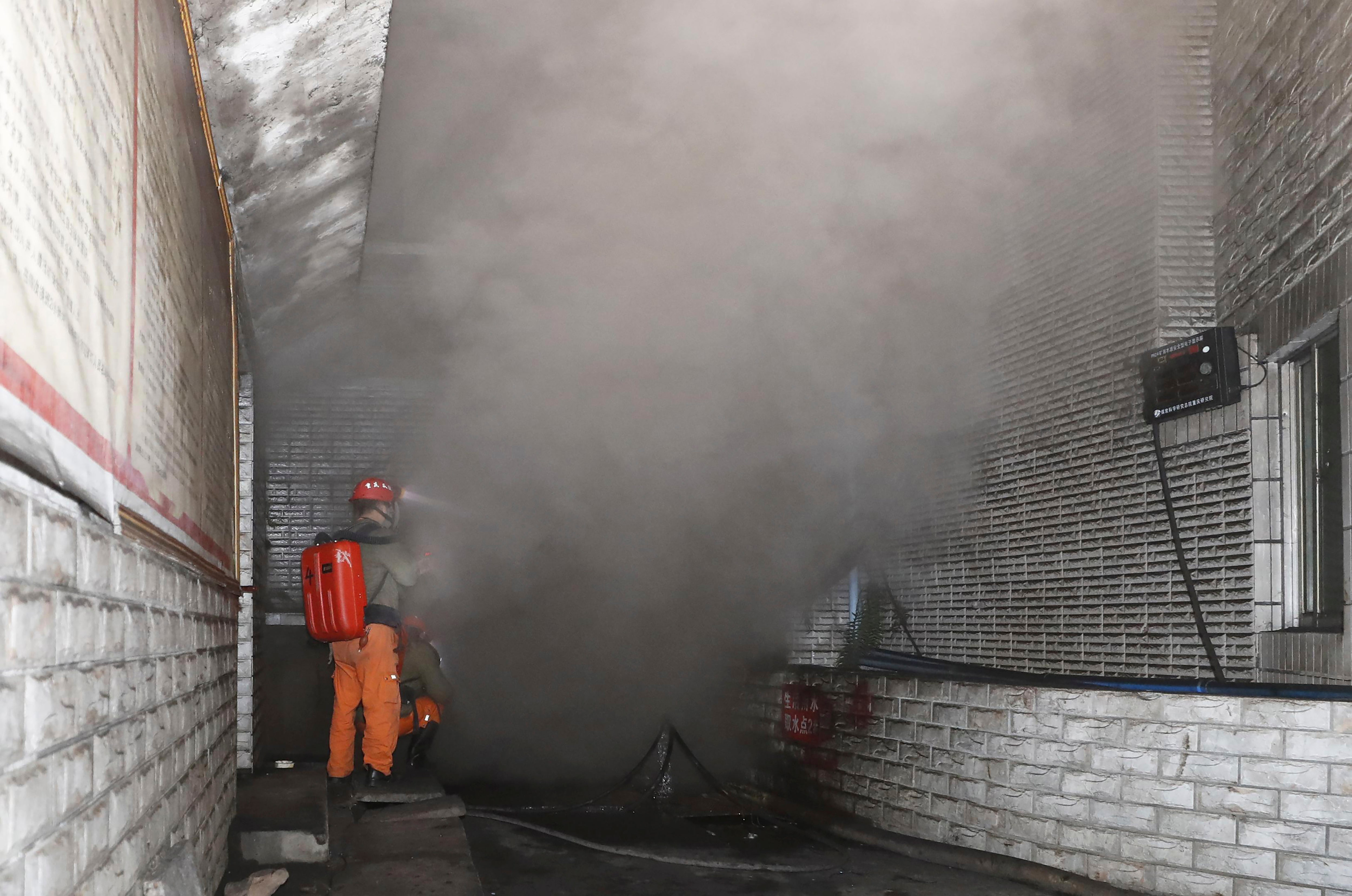 At least 18 coal miners killed in carbon monoxide disaster in China - independent