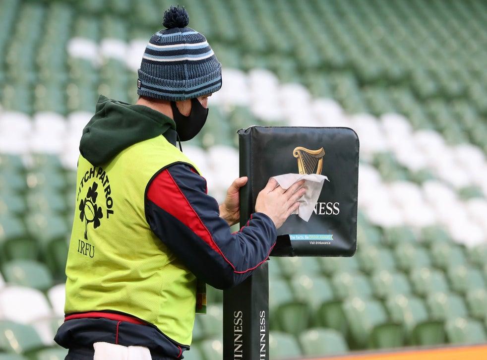 Ireland take on Scotland at the Aviva Stadium in the Autumn Nations Cup