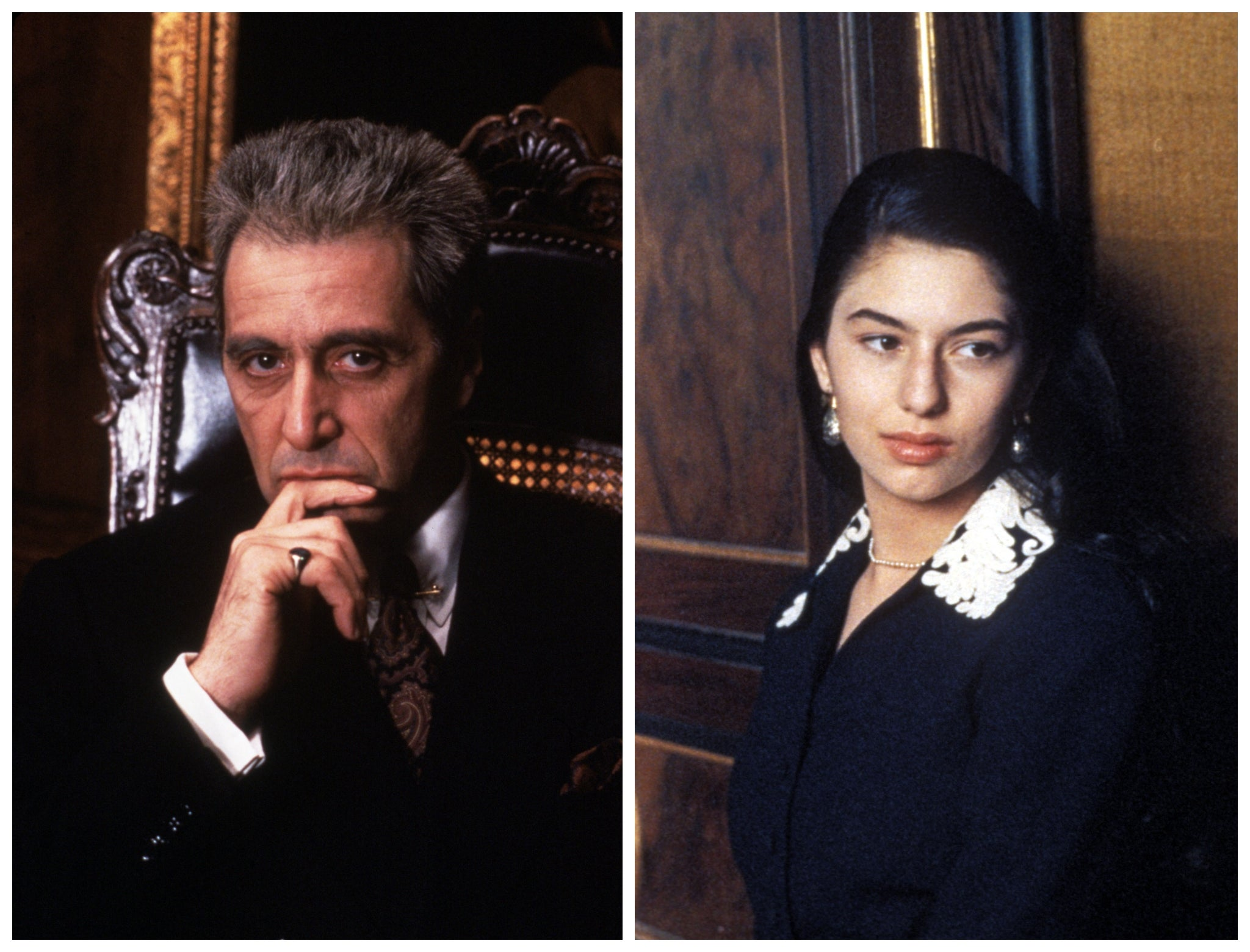 Al Pacino says he hopes new Godfather III cut will 'resolve things' for Sofia Coppola