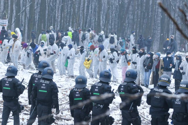 Germany Environment Protest