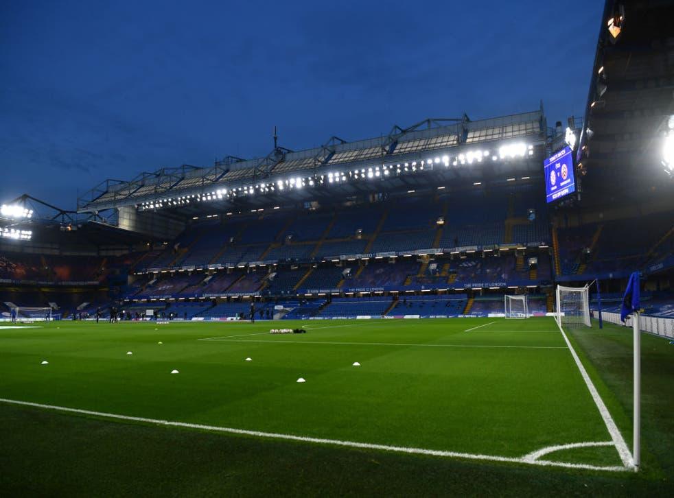 <p>El estadio Stamford Bridge abrió sus puertas este sábado</p>