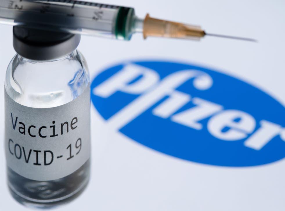<p>Vacuna Pfizer&nbsp;</p>