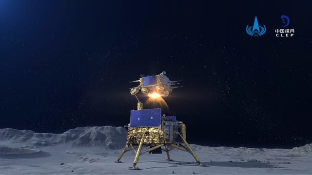 China Moon Probe