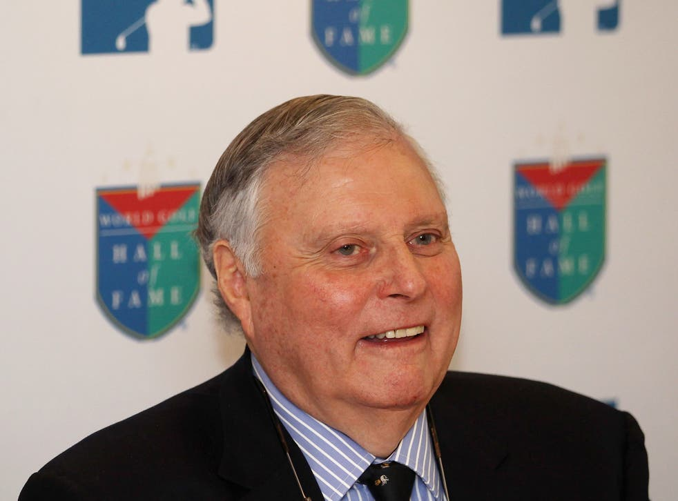 <p>Peter Alliss died in his Surrey home after a long career in golf</p>