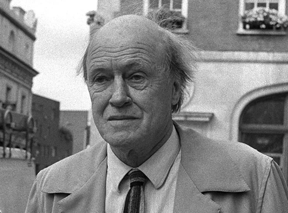 <p>Roald Dahl in 1988, two years before his death</p>
