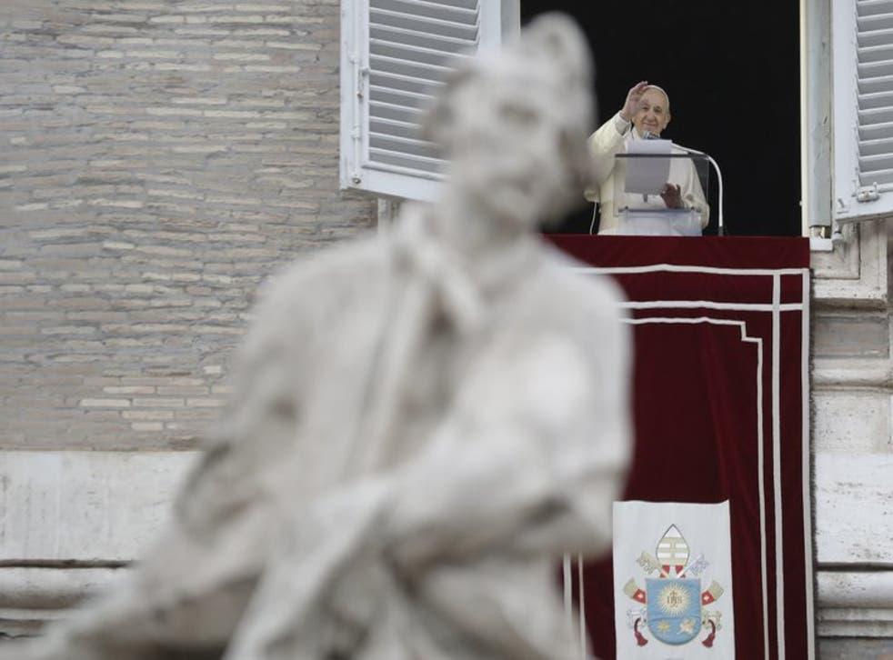 El papa Francisco en el Vaticano el 6 de diciembre del 2020.