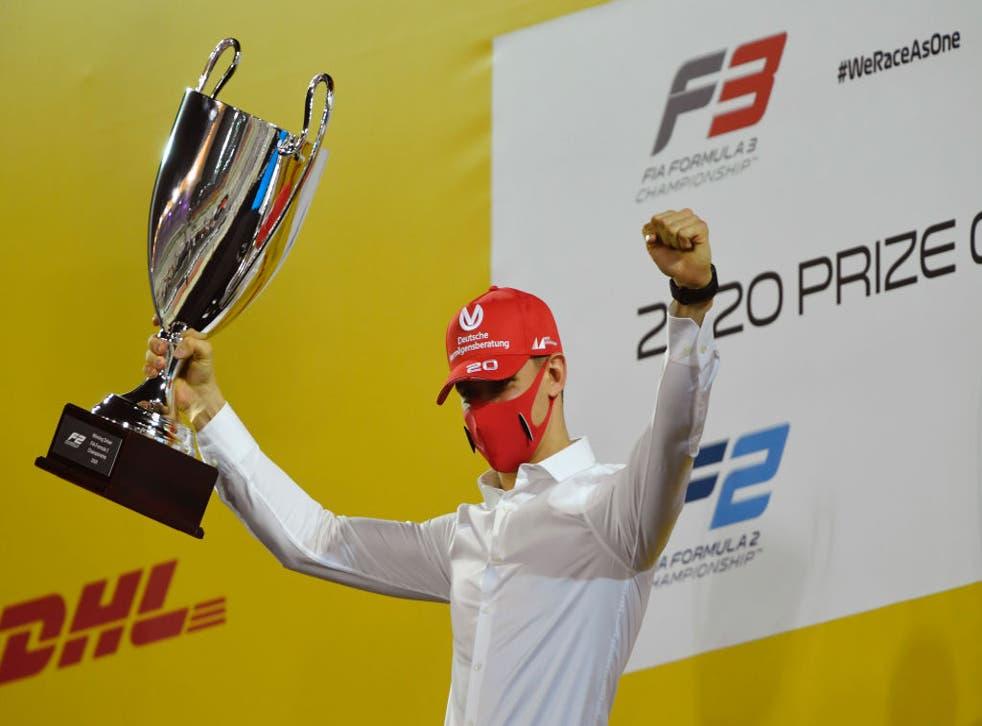 Su primera carrera en la F1 con el equipo Haas será el año próximo.