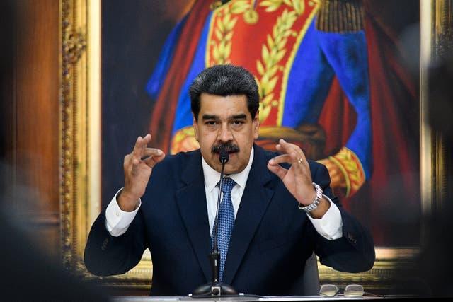 Nicolas Maduro, the current President of Venezuela
