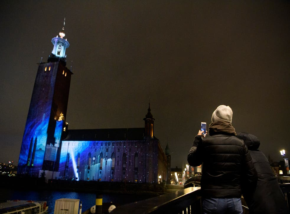 Sweden Nobel Week Lights