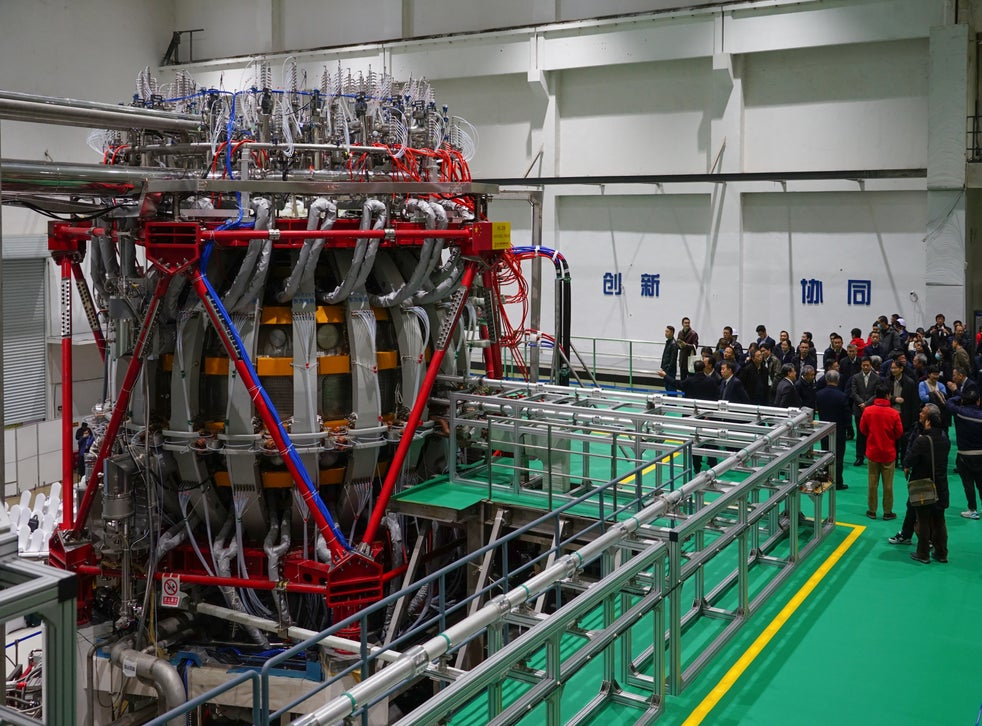The HL-2M tokamak achieved it was first plasma discharge on 4 December 2020