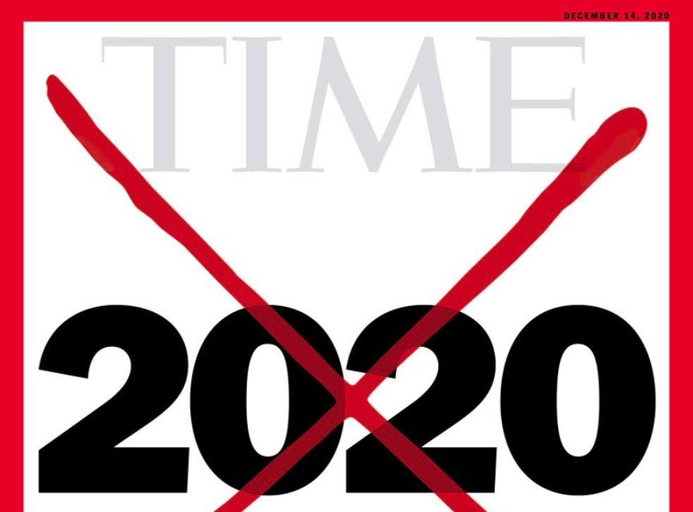 Time declares 2020 'worst year ever' on new cover