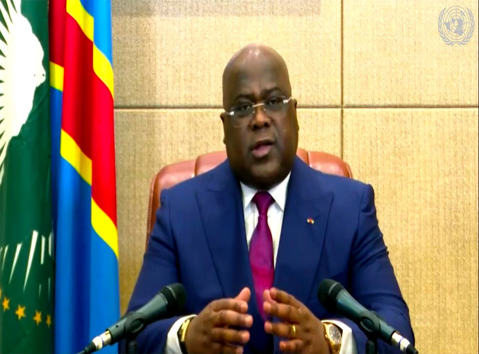 Virus Outbreak-UN-World Leaders Congo