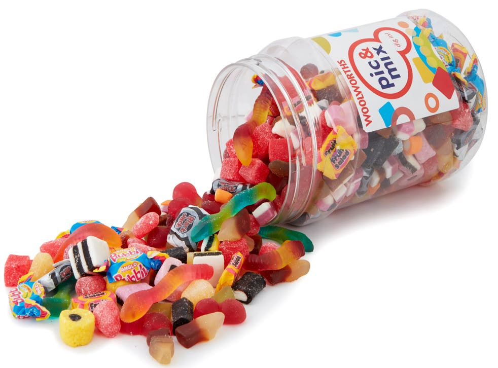 <p>Woolworths pic 'n' mix jar is back and filled with familiar favourites</p>