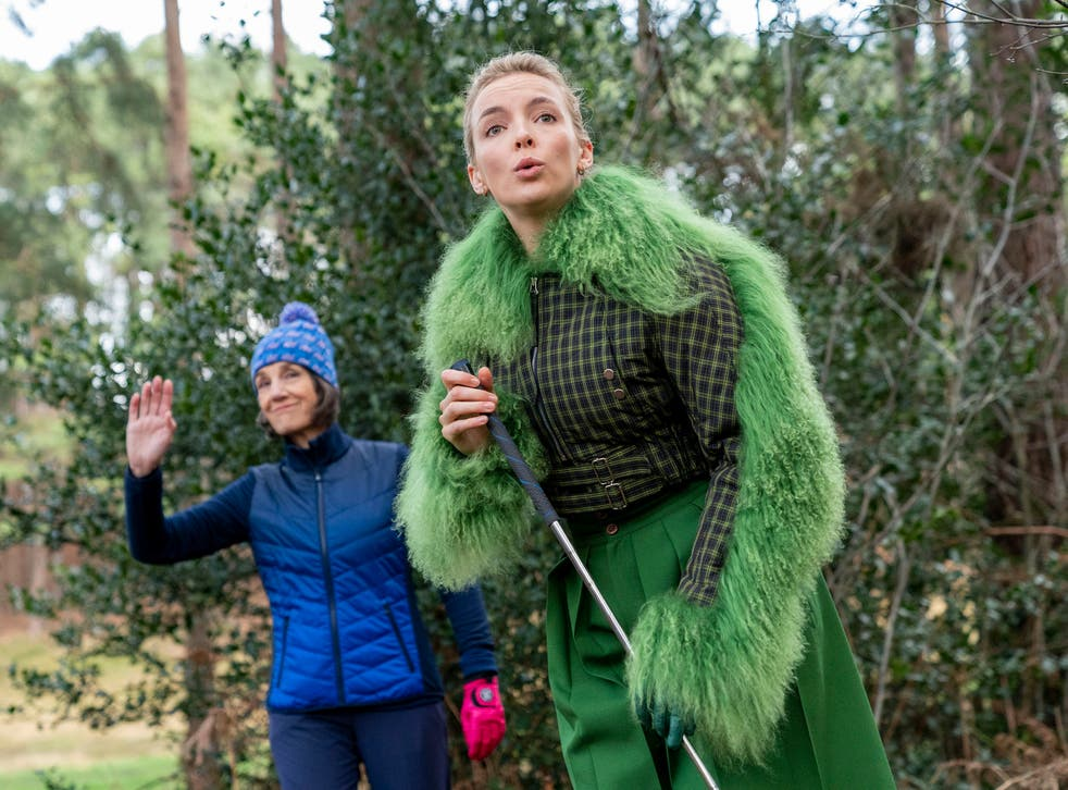 Jodie Comer and Harriet Walter in the third season of Killing Eve
