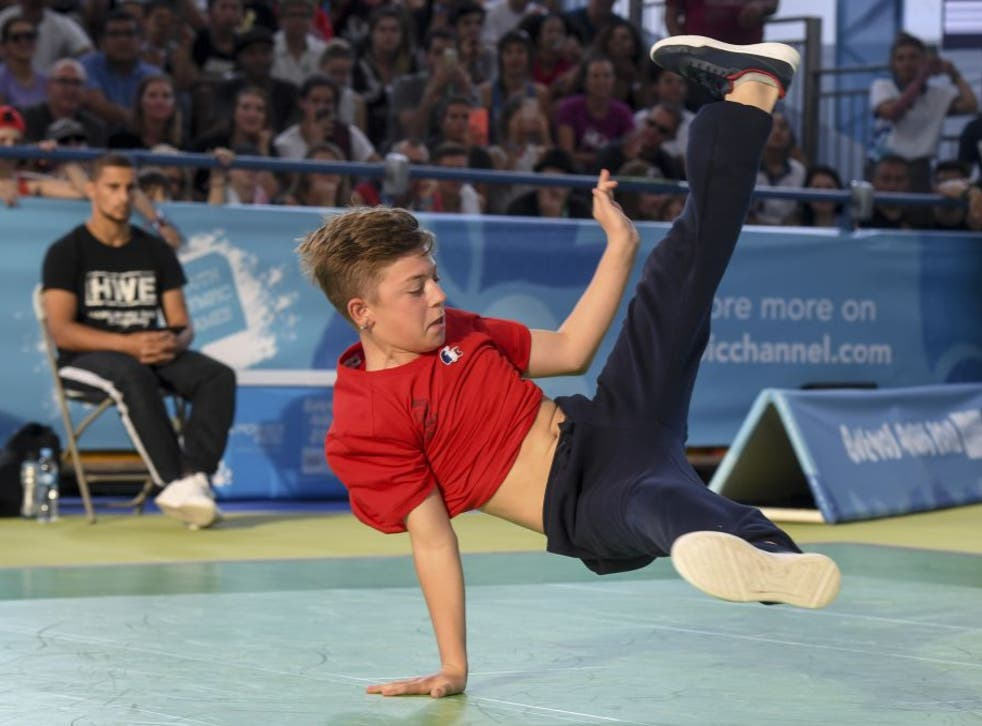 <p>Breakdancing was successfully trialled at the Youth Games</p>