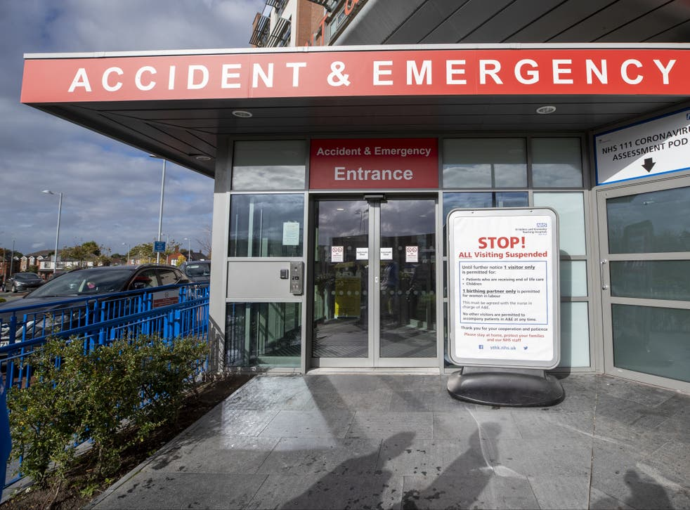Accident and emergency services were placed under greater pressure because of social care cuts