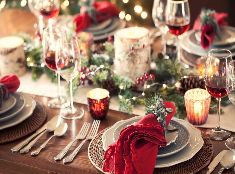 How To Create A Christmas Tablescape Fit For A Festive Feast The Independent