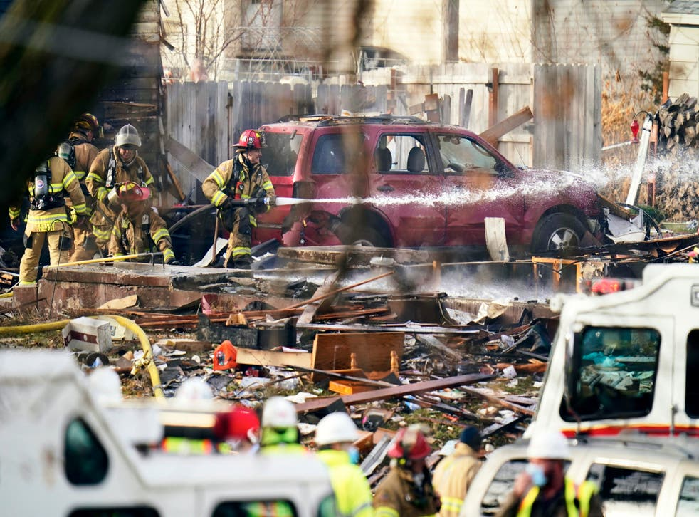 APTOPIX Omaha House Explosion