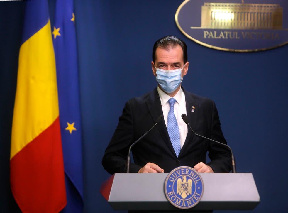 Ludovic Orban (EPA/ADRIAN PACLISAN / ROMANIAN GOVERNMENT)