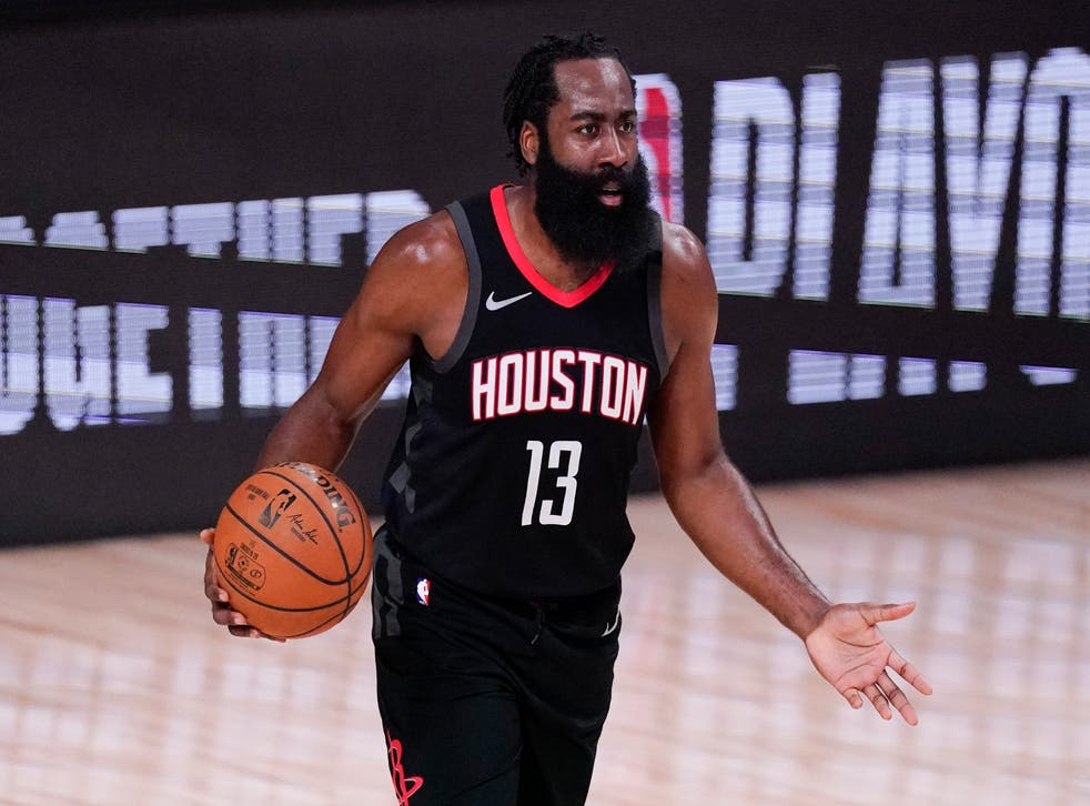 <p>Harden formará un Big Three en Brooklyn con Kevin Durant y Kyrie Irving</p>