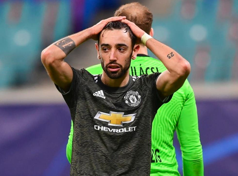 Manchester United crashed out of the Champions League