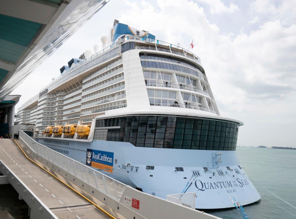 Virus Outbreak Singapore Cruise