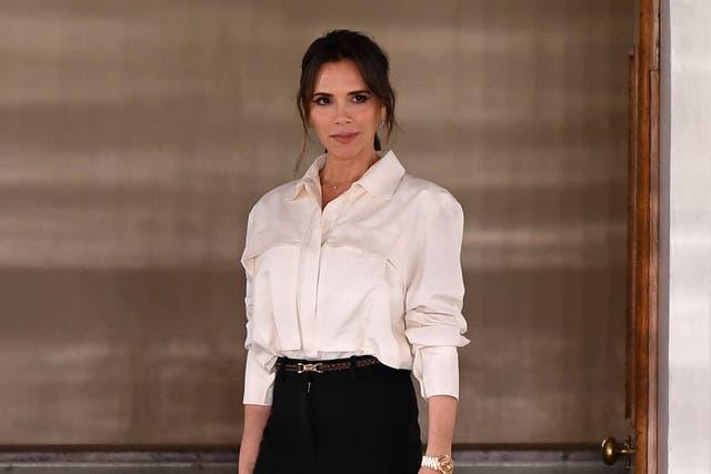 """<p>Victoria Beckham dice que la prometida de Brooklyn es una """"mujer maravillosa"""".</p>"""