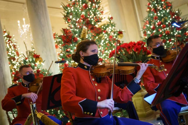 The Christmas traditions at the White House