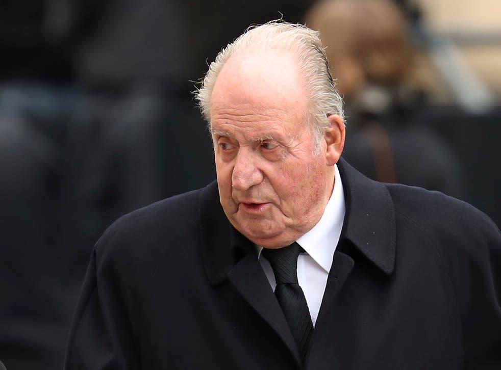 <p>Juan Carlos I huyó a Abu Dhabi tras conocerse su escándalo de evasión fiscal</p>