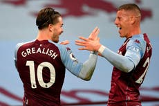 Villa won't punish Grealish and Barkley for breaking coronavirus rules