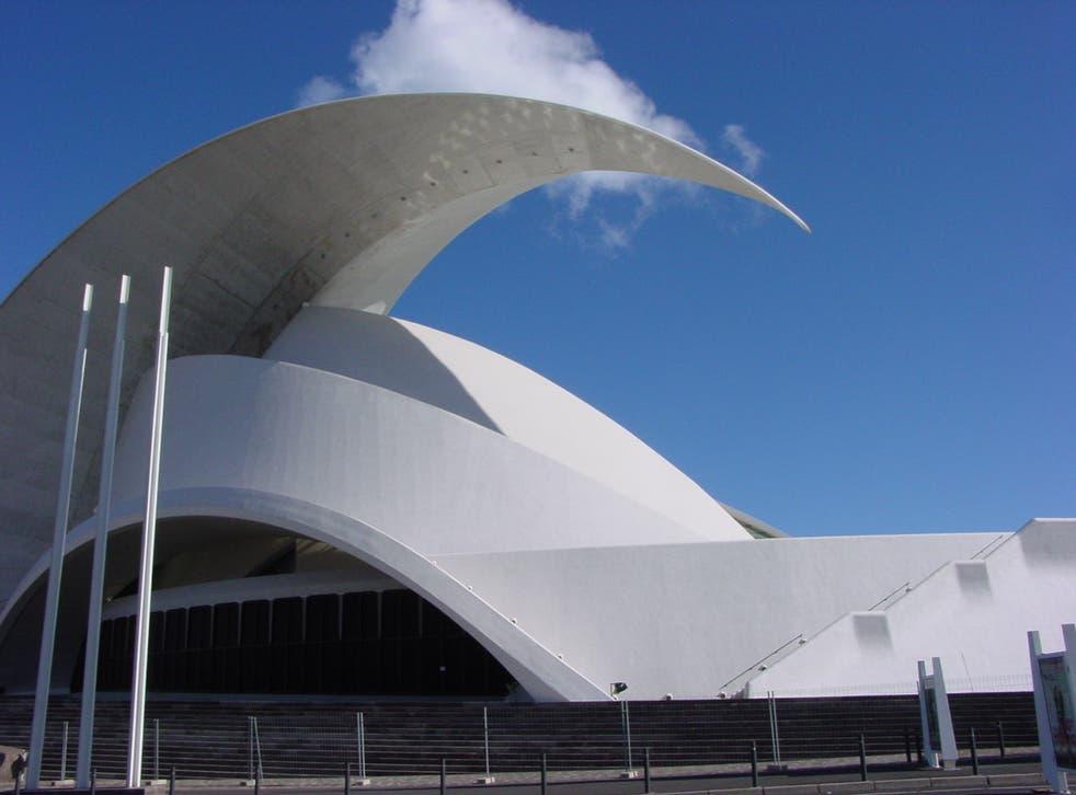 <p>Sala de conciertos de Santa Cruz de Tenerife</p>