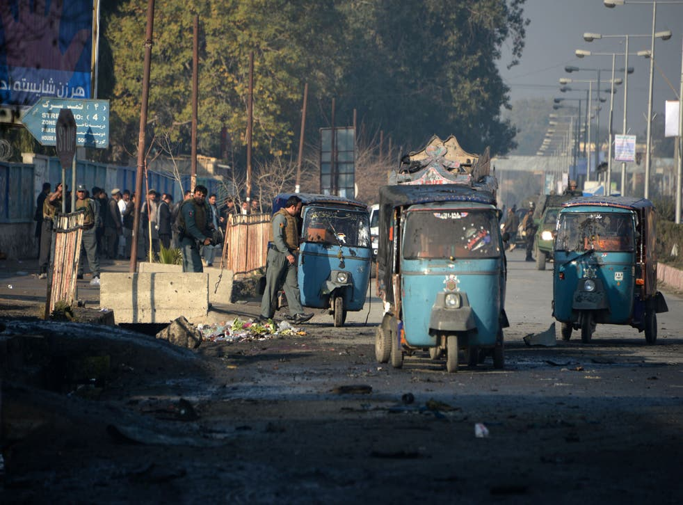 <p>Malala Maiwand was on her way to work in Jalalabad</p>