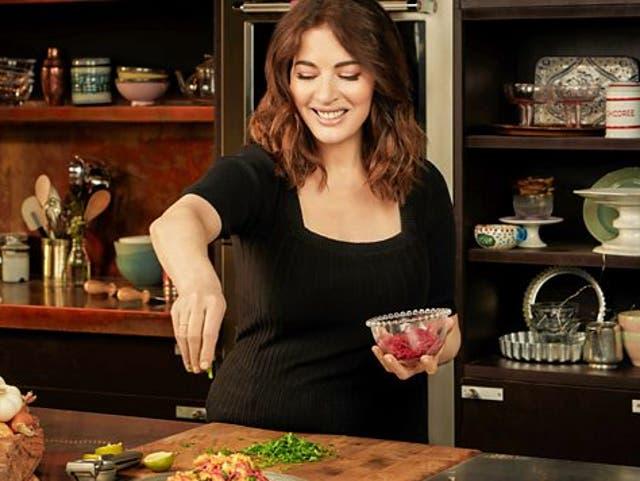 <p>Nigella Lawson on 'Cook, Eat, Repeat'</p>