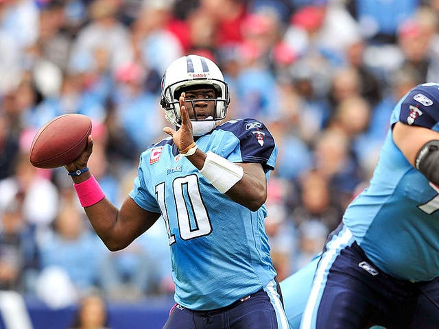 Vince Young has seen the quarterback position evolve since retiring