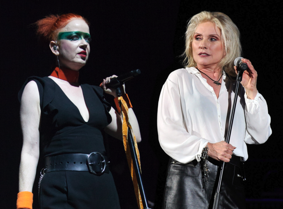 Shirley Manson on Debbie Harry: 'When Debbie's performing, there are moments that feel so wild that it's extraordinarily exciting. That combination of unpredictability and beauty is lethal'