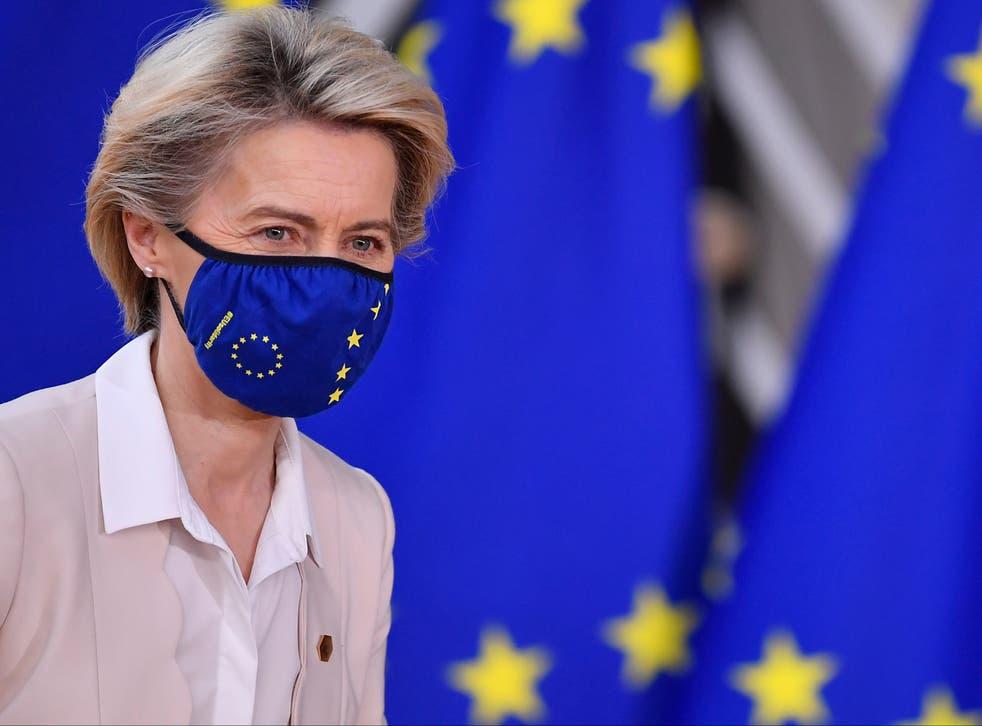 <p>Ursula von der Leyen</p>