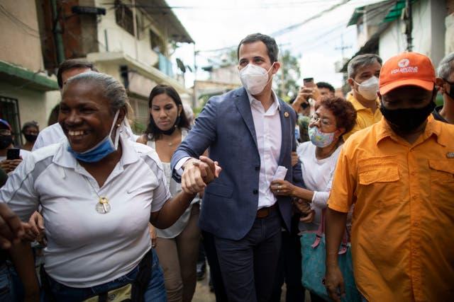 <p>Guaidó es reconocido como el presidente de Venezuela por Estados Unidos</p>