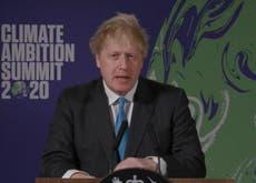 Boris Johnson: Climate crisis 'far more destructive than coronavirus'