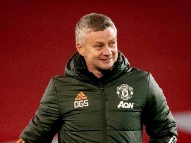 El entrenador del Manchester United, Ole Gunnar Solskjaer