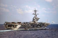 Marina estadounidense finaliza plan de búsqueda y rescate de joven marinero caído