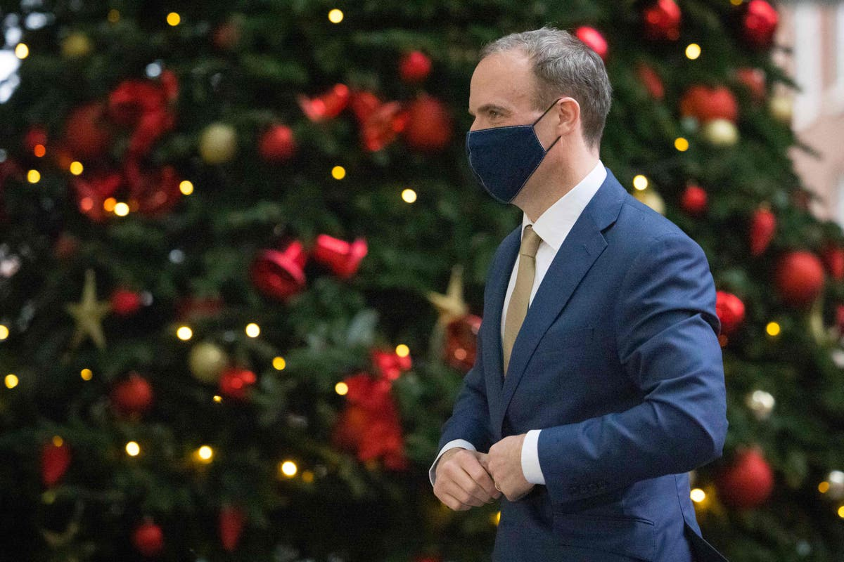 No-deal Brexit means UK poised to lose access to security databases, Raab admits