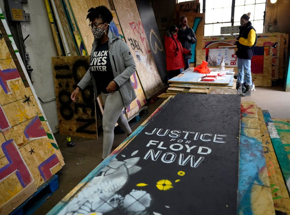<p>Murales de BLM que salvan la injusticia racial.</p>