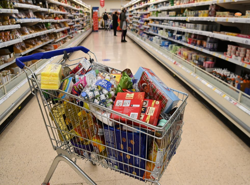 Supermarkets began stockpiling food and other goods this weekend in preparation