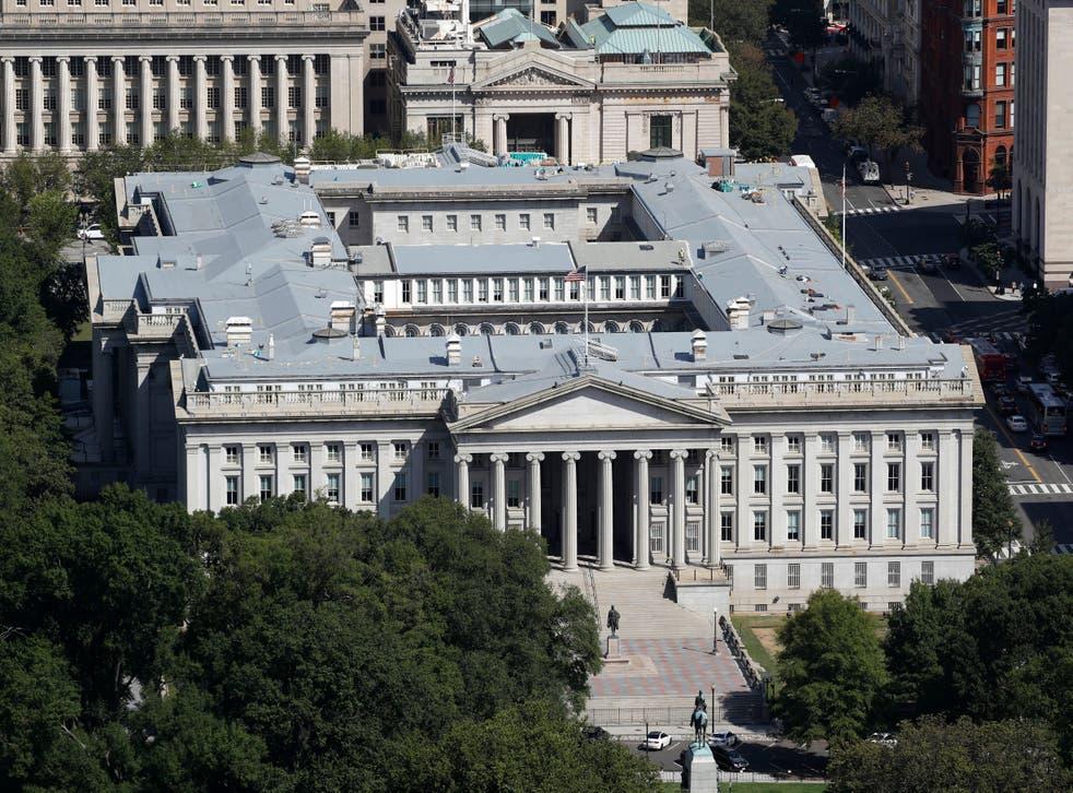 Treasury Department Hacked