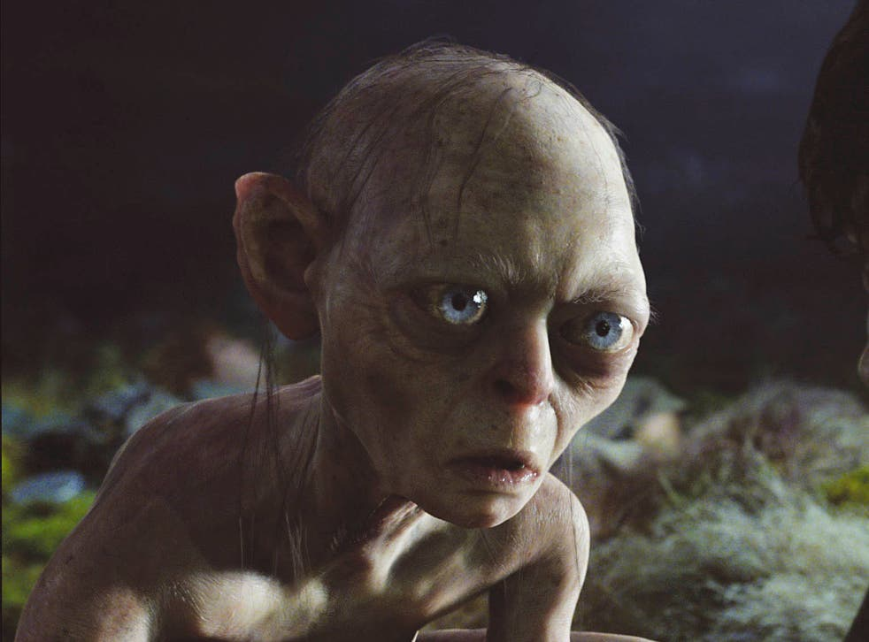 Andy Serkis' Gollum in Lord of the Rings: The Two Towers