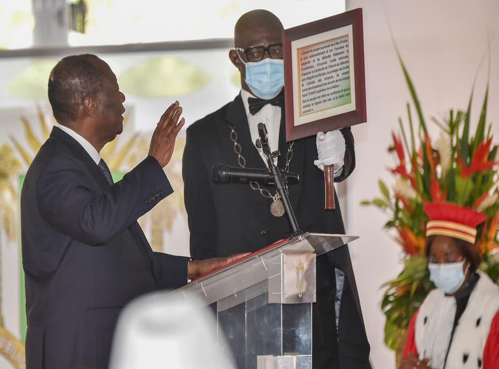 Ivory Coast Inauguration