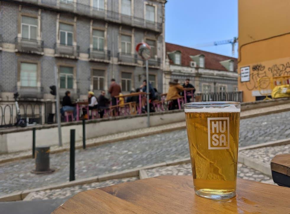 <p>'Tea at 11' morning dinner at Taberna do Calhau in Lisbon</p>