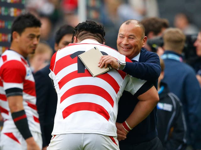 Eddie Jones expected to see England drawn alongside Japan in the 2023 Rugby World Cup