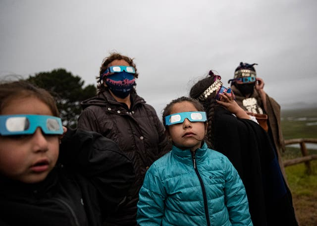 APTOPIX Chile Eclipse